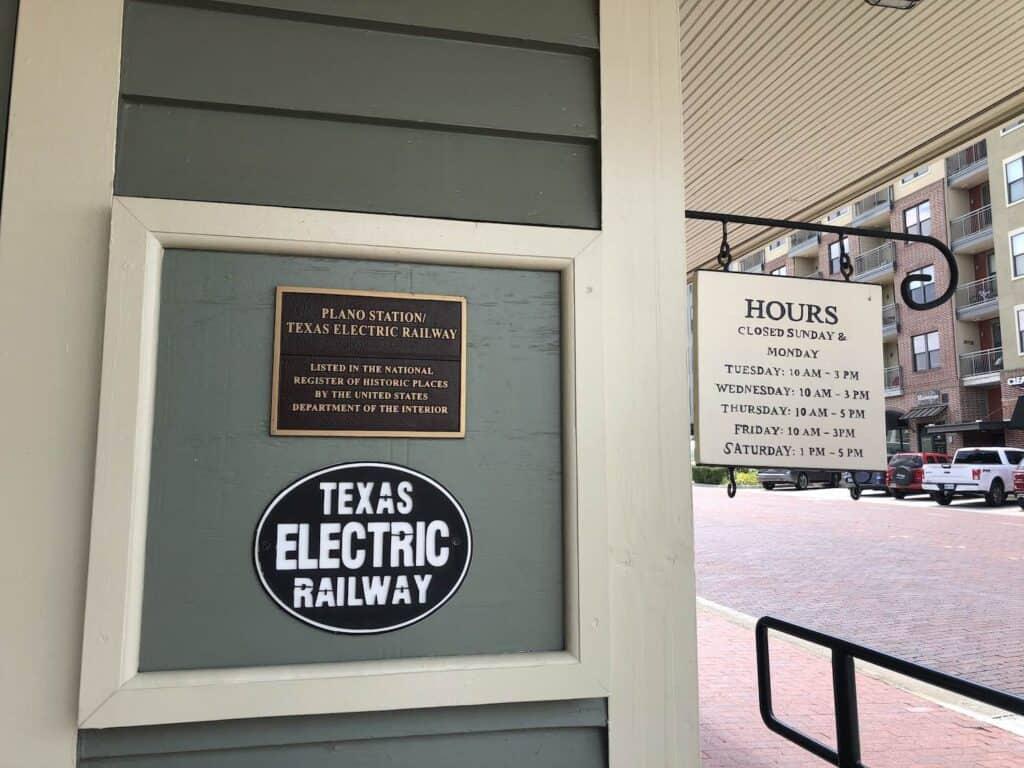 Interurban Railway Museum Plano TX